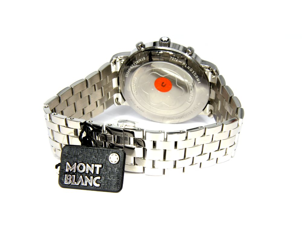 MONTBLANC TRADITION 42 MM QUARZO CRONOGRAFO REF. 117048