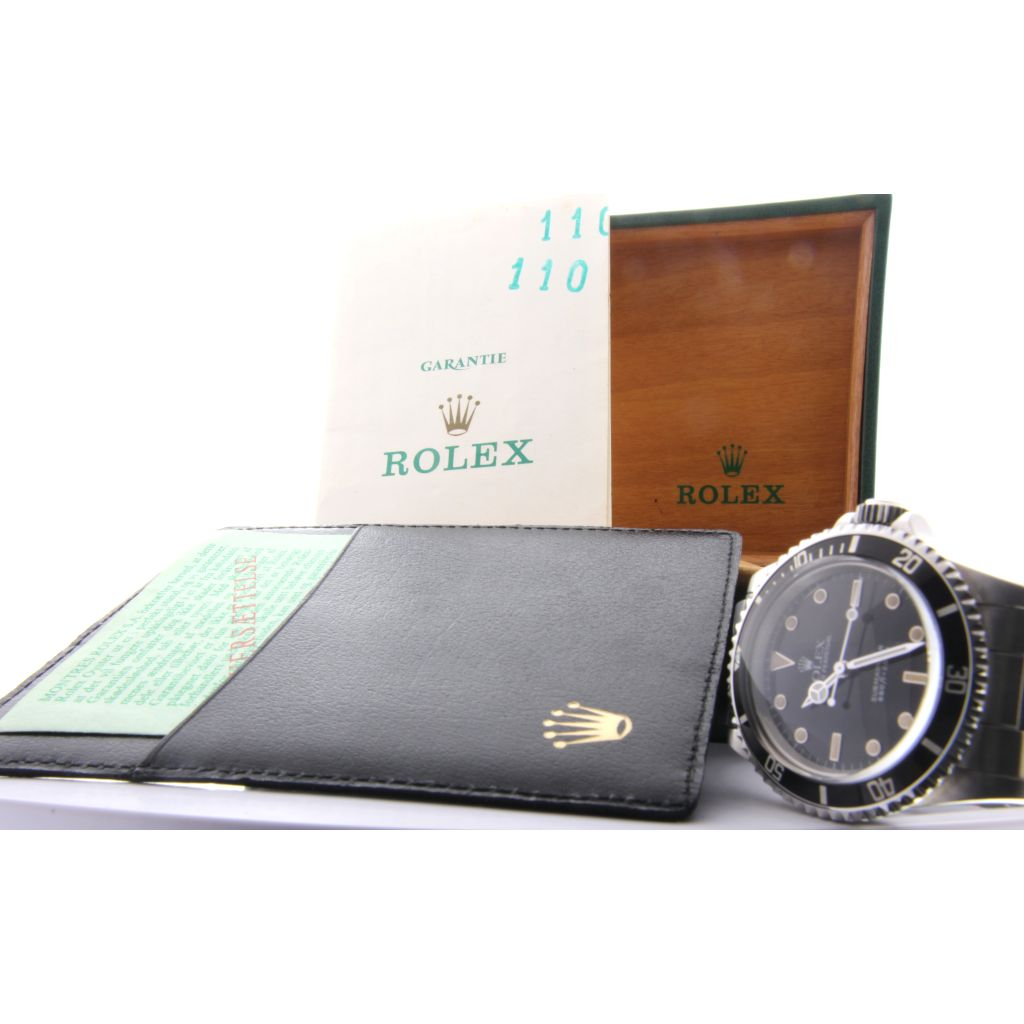 Rolex 5513 seriale R901xxx Box e Papers accaio 1988